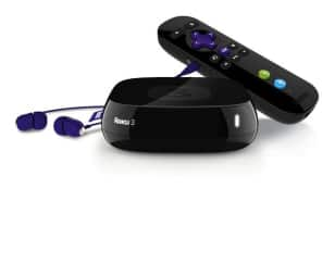 Roku 3 Wireless 1080p Streaming Media Player with USB Port (4200R) $90 + Free Shipping