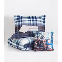 Aeropostale Deal: 6-Piece Twin Bedding Sets: Comforter, Flat Sheet, Fitted Sheet, Sham, Pillowcase, & Pillow all for $27.99 & more
