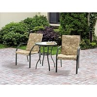Walmart Deal: Mainstays 3-Piece Spring Creek Outdoor Bistro Set