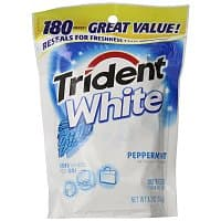 Amazon Deal: Trident Gum: 12-pk Spearmint Gum (18-count) $5.80, 180-count White Peppermint