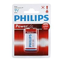 Meritline Deal: 6-Pack of Philips PowerLife 9V Alkaline Batteries