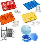 13deals.com Deal: Star Wars Collection Silicone Ice Cube/Baking Molds