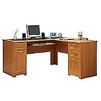 Office Depot Deal: Realspace Magellan Collection L-Shaped Desk $110 or Hutch for