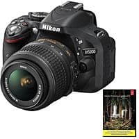 eBay Deal: Nikon D5200 24MP DSLR w/ 18-55mm Lens (refurb) + Adobe LR 5