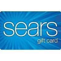 eBay Deal: Sears Gift Card: $200 GC for $170 or $100 GC