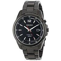 Amazon Deal: Seiko Men's Kinetic Black Ion-Plated Stainless Steel Watch