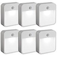 Daily Sale Deal: Mr. Beams Battery-Powered Motion-Sensing LED Nightlights: 9-Pack $45 or 6-Pack