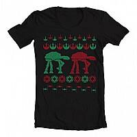 Hobo Ninja Deal: A Very Merry Star Wars Ugly Christmas Sweater Shirt: 2 for $14