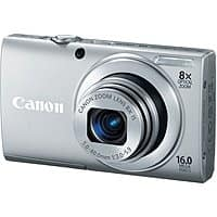 Canon Deal: Canon Refurbished PowerShot Digital Cameras: ELPH 115 IS $50, ELPH 130 IS $60, A4000 IS