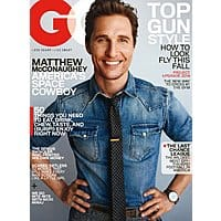 DiscountMags Deal: GQ Magazine as low as $4 per year (when you purchase 3-yrs)