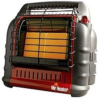 Amazon Deal: Mr. Heater Big Buddy 18,000 BTU Portable Propane Heater