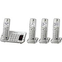 Newegg Deal: Panasonic Link2Cell Bluetooth Enabled Phone w/ Answering Machine & 4 Handsets