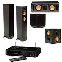 Acoustic Sound Design Deal: Klipsch RF-42II 5.0 Home Theater Bundle w/ Harmon Kardon 3D Blu-ray System