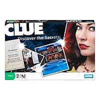 Amazon Deal: Games: Clue $5.75, Twister Rave Skip It $6.80, Jake & The Neverland Pirates Treasure Hunt
