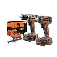 Home Depot Deal: Rigid 18V Compact Drill & Impact Driver Kit w/ 2x Hyper Lithium-ion Batteries