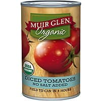 Amazon Deal: 12-Pack Muir Glen Organic Diced Tomatoes w/ No Salt Added (14.5-oz ea)