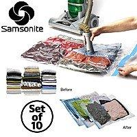 Deal Genius Deal: Samsonite Vacuum Storage Bags: 10-Piece Set $20, Hanging Storage Bag