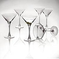 Kmart Deal: 6-Piece Essential Home Martini Glassware Set