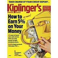 DiscountMags Deal: Kiplinger's Personal Finance $6.99 per year