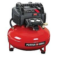 eBay Deal: Porter-Cable C2002 6-Gallon 150 PSI Portable Air Compressor (refurbished) for $74.99 with free shipping