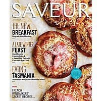 DiscountMags Deal: Saveur Magazine $4.70 per year