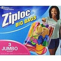 Amazon Deal: Ziploc Household Storage Bags: 5-Ct Large $5, 3-Ct XX-Large