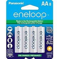 Adorama Deal: 8-pk Panasonic Eneloop Ni-MH Rechargeable Batteries: AA $15, AAA
