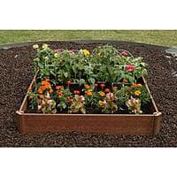 "Home Depot Deal: Greenland Gardener 42""x 42"" Raised Garden Bed Kit $21.73 at Home Depot"