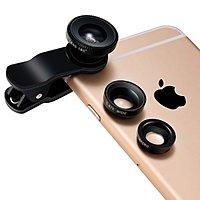 Amazon Deal: Breett Clip-On Camera Lens Kit for Smartphones & Tablets