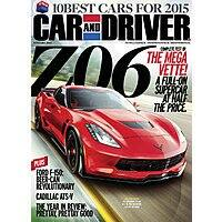 TopMags Deal: Car & Driver $4.50/yr, Road & Track $4.50/yr, Automobile $4.50/yr