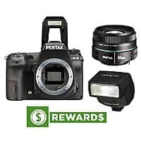 Adorama Deal: Pentax K-3 DSLR Body + F1.8 50mm Lens + AF-200FG Flash + $30 Rewards