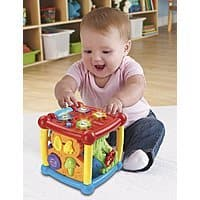 Amazon Deal: VTech Busy Learners Activity Cube $9.08 with free shipping
