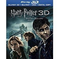 Deep Discount Deal: Harry Potter & the Deathly Hallows Part 1 (Blu-ray 3D, Blu-ray, DVD & Digital Copy)