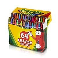 Amazon Deal: 64-Count Crayola Crayons