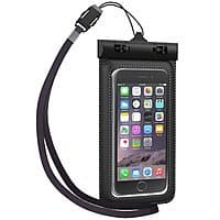 Amazon Deal: Tethys Universal Waterproof Pouch for Smartphones