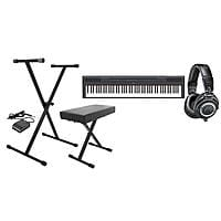 Adorama Deal: Yamaha 88-Key Digital Piano + Stand/Bench w/ Pedal + ATH-M50x Headphones