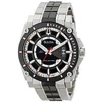 Shnoop Deal: Bulova Men's Precisionist Two-Tone Steel Watch w/ Black Ion-Plated Accents $165 with free shipping