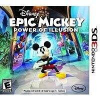 Walmart Deal: Disney Epic Mickey 2: Power of Illusion (3DS) or The Power of Two (Wii U)