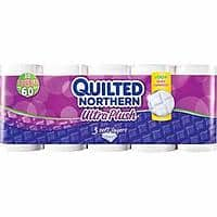 Target Deal: 60-Ct Quilted Northern Ultra Plush Double Roll Toilet Paper + $10 Target GC