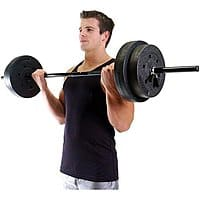 Walmart Deal: Gold's Gym 100-Lb Vinyl Weight Set with Bar