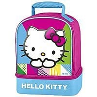 Amazon Deal: Hello Kitty Thermos Dual-Compartment Lunch Kit $7 at Amazon