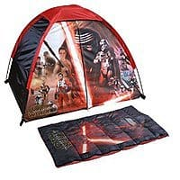 Star Wars Sleeping Bag & Tent Set (for play) just $  10.86 at Amazon