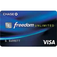 Chase Freedom Unlimited Credit Card: Bonus after $500 Spent