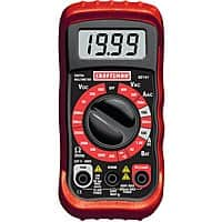 Craftsman Digital Multimeter with 8 Functions