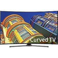 "65"" Samsung UN65KU6500 4K Curved UHD HDTV + $500 Dell eGift Card"