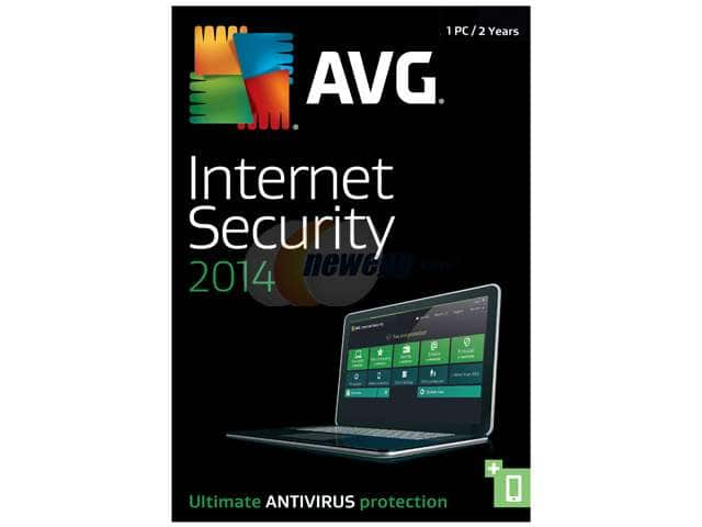 AVG Internet Security 2014 (1PC/2-year), Kaspersky Pure 3.0 (3 PC), and More  Free after Rebate + Free Shipping