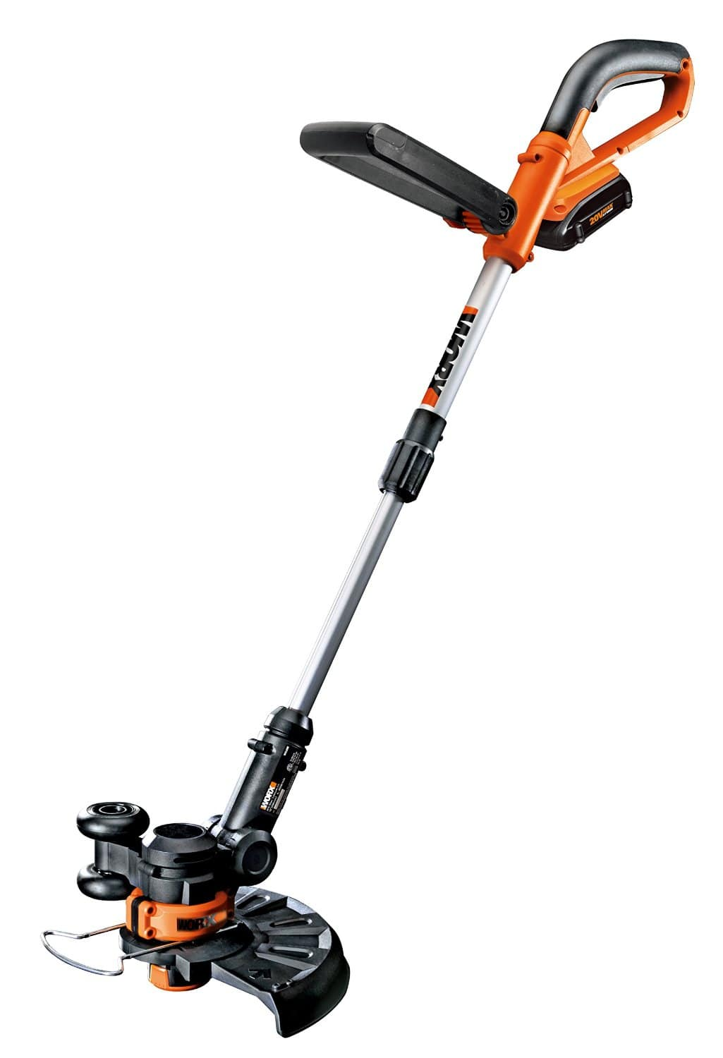 WORX WG156 Worx GT 20V Lithium Cordless Grass Trimmer with 2 Batteries $59.99 with free shipping
