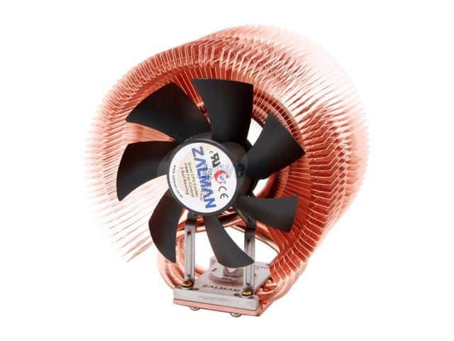 Zalman 2-Ball Bearing CPU Cooler Fan/Heatsink (CNPS9500) $12.99 after Rebate + Free Shipping