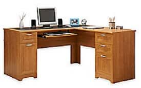 Realspace Magellan Collection L-Shaped Desk $110 or Hutch for  $45 + Free Store Pickup