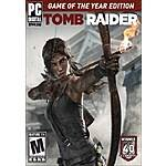 Tomb Raider: Game of the Year Edition (PC Digital Download) $4.80